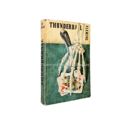 Thunderball by Ian Fleming Signed by Sean Connery Martine Beswicke First Edition Jonathan Cape 1961